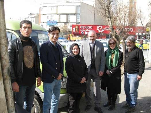 Czech Diplomats Visit Rebirth Society, Iranian Nonprofit Organization Supported By The Czech Republic