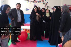 دیدار معاون رییسجمهوری و هیات همراه از نخستین مرکز درمانی و بازتوانی مادر و کودک